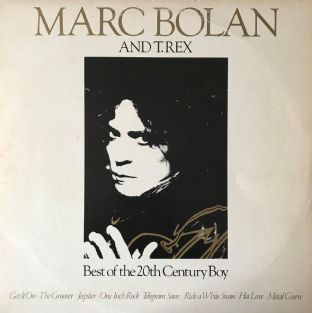 Marc Bolan And T. Rex ‎- Best Of The 20th Century Boy (LP) (G+/G++)